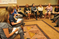 The 2010 WYCUP Networking Session at The 1 Credit Union Conference.