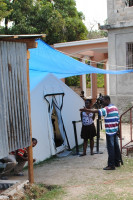Haiti tented office