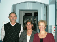 Fokkus CAR Manager Ildiko Croitoru (right), pictured here with CU staffer and board member, says that members trust the CAR to honor its commitments. She credits that trust with helping the CAR grow dramatically over the years.