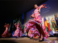 Traditional Spanish Flamenco dancers wowed the crowd.