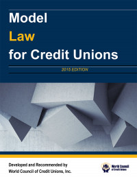 Model Law for Credit Unions