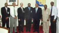 CU leaders meet in the Barbados Parliament