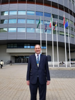 Michael Edwards, World Council vice president and general counsel at the United Nation's Vienna International Centre.