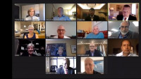 The WOCCU Board Virtually Celebrating ICU Day in 2020