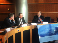 ENCU presenting credit union issues at the European Parliament