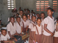 Students from the St. Jude School.