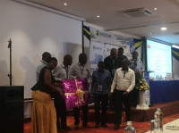 TIFI Project team members attending KUSCCO's Annual Conference in Mombasa, Kenya, January 2020