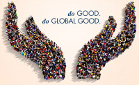 "The new tagline for the Worldwide Foundation for Credit Unions: ""Do Good. Do Global Good""."